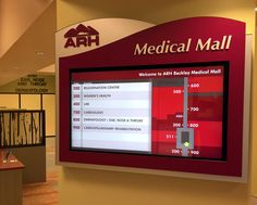 The new INNERFACE digital signage and wayfinding solutions provide the ultimate flexibility for frequently changing wayfinding and directory information. Updated via a cloud-based application or flash drive, our turnkey digital signage systems provide a robust platform for managing content down to the minute of the day. More importantly – our systems integrate visually with the … Continue reading Digital Signage – ideal solutions for medical office buildings →