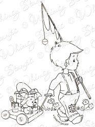 Little Jack and Bobbin Gone Fishin'