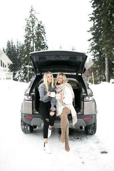 Bre Sheppard & Karlie Rae Winter Style