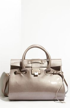 Jimmy Choo 'Rosalie' Patent Leather Satchel available at Nordstrom