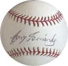 Tony Fernandez Autographed Baseball #SportsMemorabilia #TorontoBlueJays #SweetSpot