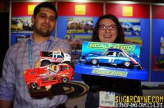 Hornby America, Scalextic (@SCALEXTRIC) Slot Cars, NY Toy fair