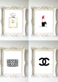 4 chanel dream prefume original Illustration by theprintsworld, $27.00