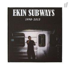 Ekin Subways ( 1998 - 2013 ) Buch - http://www.overkillshop.com/de/product_info/info/11232/