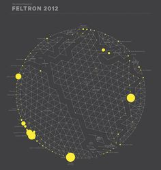 """Nicholas Felton's 2012 """"Feltron Report"""" is out now. It begins with a visualization of where he spent his time."""