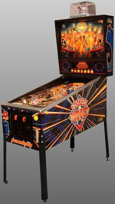 Doctor Who Pinball machine... I can't begin to tell you how much I need this in my Man Cave!  #Nerdgasm