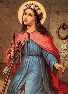 Saint Philomena. Patron Saint of babies, infants and youth. For my babies, for my grandbaby and for everyone. We are all someone's baby.