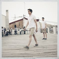 white polo shirt and shorts camel by Zambrano Summertime collection
