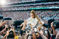 Queen Bey: Beyonce slayed with killer concert in Dublin's Croke Park on Saturday — but mak...