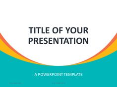 48 Best Abstract Powerpoint Templates Images On Pinterest