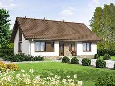 Model House Plan, New House Plans, Bungalows, Small Villa, Bungalow House Design, Design Case, Architect Design, Home Fashion, Gazebo