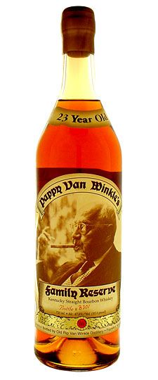 Pappy Van Winkle 23 Years Old Family Reserve Kentuck Strength Bourbon Whiskey Bourbon Whiskey, Bourbon Drinks, Cigars And Whiskey, Scotch Whiskey, Rare Whiskey, Top 10 Bourbons, Best Bourbons, Wine And Liquor, Wine And Beer