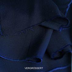 Luxus Rolva = Stretch TENCEL® in dunkel Navy | Cupro + TENCEL® + Rolva