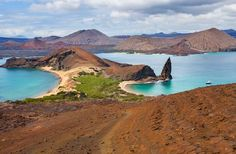 Galápagos Islands, Ecuador, located 575 miles off the coast of Ecuador, the Galapagos archipelago & it's surrounding waters are a national park a biological marine preserve, and a UNESCO World Heritage Site.  The area's raw beauty & abundance of unique species, like the giant tortoise, make it a nature lover's dream.