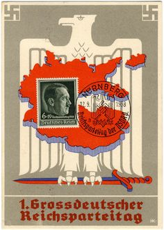 Philasearch.com - Third Reich Propaganda, Events and Party Rallies, Party Rally 1938