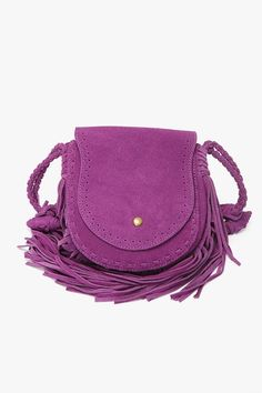 Brittany Stern it is purple and it is fringey f9581bf21b968