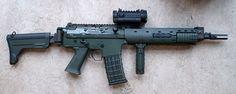 Ak5 assault rifle (Sweden), 5.56×45mm NATO (.223 Rem)