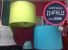 OFERTA ESPECIAL #LÁMPARAS!! Antes 150€.... AHORA 49€ Ven pronto a visitarnos en C/Torres nº1, Almería
