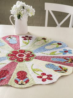 Cute Flip Flop Table Topper Pattern