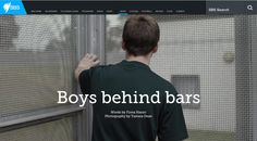 How do kids growing up in juvenile detention see the world – and their futures? Boys Behind Bars, a story  by SBS, created with Shorthand.