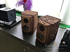 Mono and Stereo High-End Audio Magazine: Diapason bespoke solid wood exclusive monitor speakers NEW