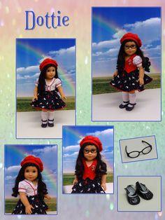 Dottie - modern Dorothy from Wizard of Oz   custom American Girl doll