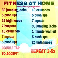"""""""Great home workout! And trust me, this one will take your breath away! Some of these look easy on paper right? Give them a shot and let me know how it…"""""""