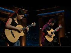 Unreal performance! Craig Ferguson 10 28 9E Late Late Show Rodrigo Y Gabriela