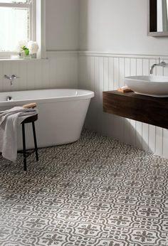 Bathroom Floor Tiles at Topps Tiles. Loft Bathroom, Bathroom Floor Tiles, Bathroom Renos, Budget Bathroom, Bathroom Interior, Room Tiles, Tile Floor, Bathroom Ideas, Bathroom Mirrors