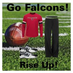"""Go Falcons!"" by chauert ❤ liked on Polyvore featuring Puma and NIKE"