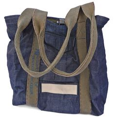 Tripper Mister Freedom 2013 Could make one out of jeans and ribbon. Indigo Colour, Denim Bag, Camo Print, Vintage Books, Purse Wallet, Purses And Bags, Shopping Bag, Vintage Outfits, Reusable Tote Bags