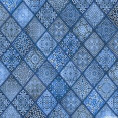 Heavenly - Diamond Mosaic - Delft Blue