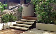 terrace hard landscaping