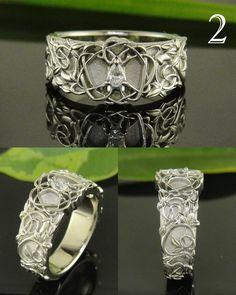 art nouveau delight- SWOON!!! #jewelryworks #engagement