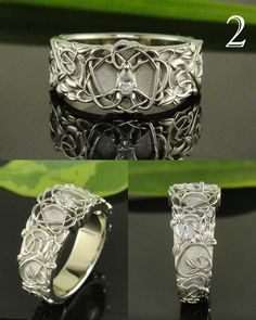 art nouveau delight- SWOON!!! #jewelryworks #engagement
