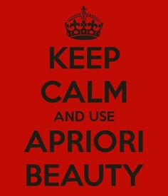 Apriori Beauty..Use, Love, Share!  ID#1000138 Www.useloveshare.com/FIC/Natalie/products