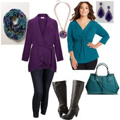 """Daytime Museum Date- Plus Size Outfit"""