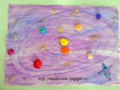 Ema la scoala: Universul - Sistemul solar