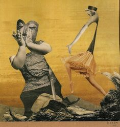 The Daily Muse: Hannah Höch – Photomontage/Collage Artist - elusivemu. Collages, Collage Artists, Surrealist Collage, Hannah Hoch Collage, Hannah Höch, Raoul Hausmann, Dada Artists, Francis Picabia, Max Ernst