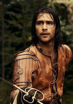"Luke Pasqualino as D'Artagnan from the newest version, ""The Musketeers"""