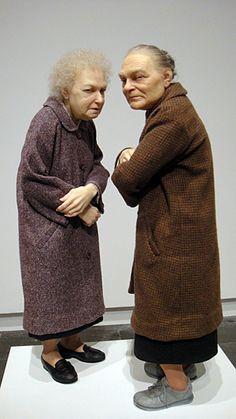 My favorite larger than life artist ~ Ron Mueck - sculpture