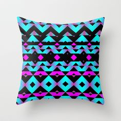 Mix #125 Throw Pillow by Ornaart - $20.00