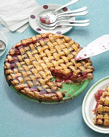The perfect combination of tart and sweet, this familiar dessert, crowned with an old-fashioned lattice crust, evokes an era when every afternoon included pie and coffee.