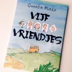 #prentenboekperweek 23/52 Recensie: Vijf vriendjes - Quentin Blake