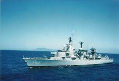 F812 Hr Ms J.v.Heemskerck at sea in some nice weather