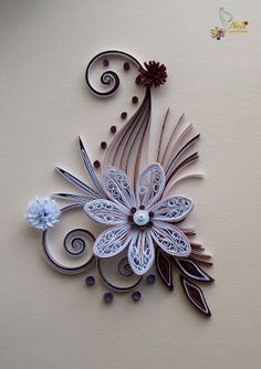 Fancy Quilled Daisy