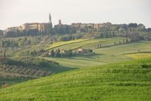 Tuscany was known for hilltop villages in medieval times. These communities still exist with a unique lifestyle built around vineyards, olive groves and other crops.