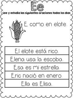 MI ALFA-LIBRO {FLUENCY READER IN SPANISH} - TeachersPayTeachers.com