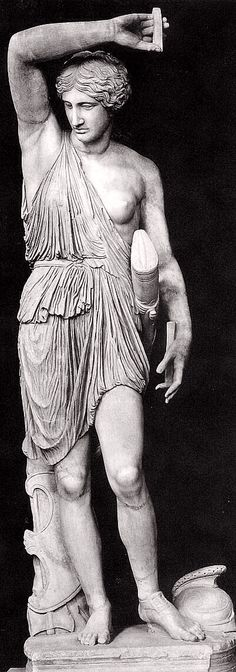 Amazon Mattei is the best existing copy of a lost original by #Phidias, created in bronze in the second half of the 5th century BC. Is marble (h 211 cm) and is preserved in the Museo Pio-Clementino in the Vatican museums. Da Wikipedia, l'enciclopedia libera.