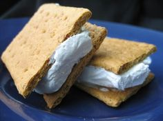 WW 1 + pt... Spread 1 tbs of lite cool whip on half a graham cracker and top with remaining half and freeze.